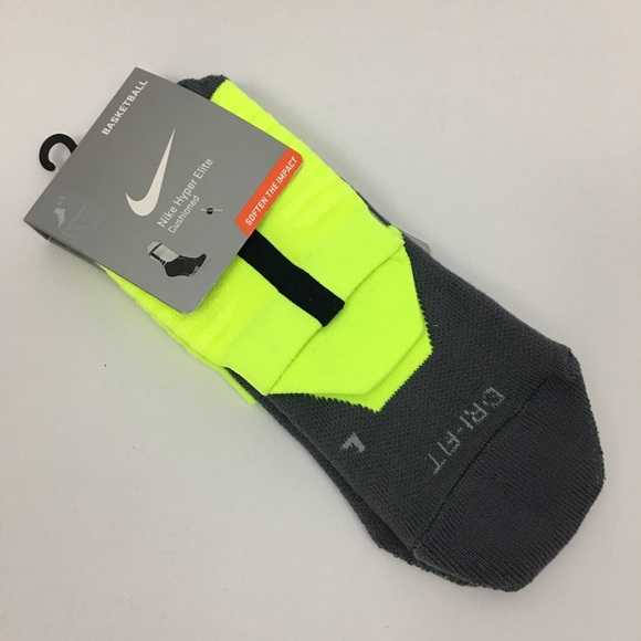 Nike Other - Nike hyper elite basketball crew socks size XL NEW